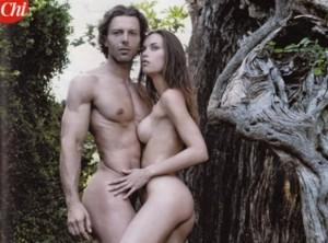 Francesco Testi nudo e depilato su CHI
