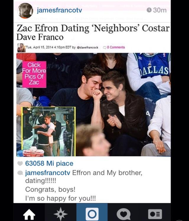 Noooooo anche Zac Efron è gay