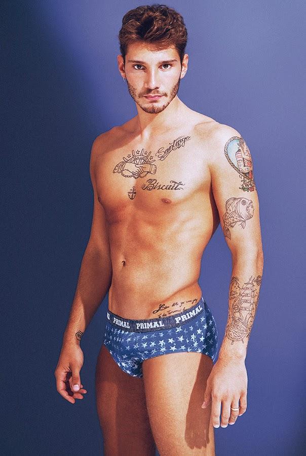 Stefano de Martino tatuaggi