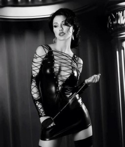 FOTO sexy padrona mistress dresscode in latex