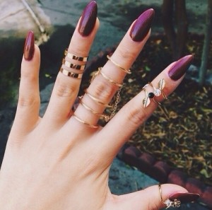 FOTO unghie e mani decorate per graffi