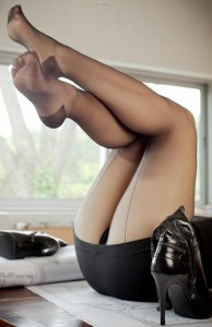 FOTO feticcio calze velate