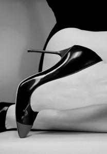 FOTO scarpe vernice nera