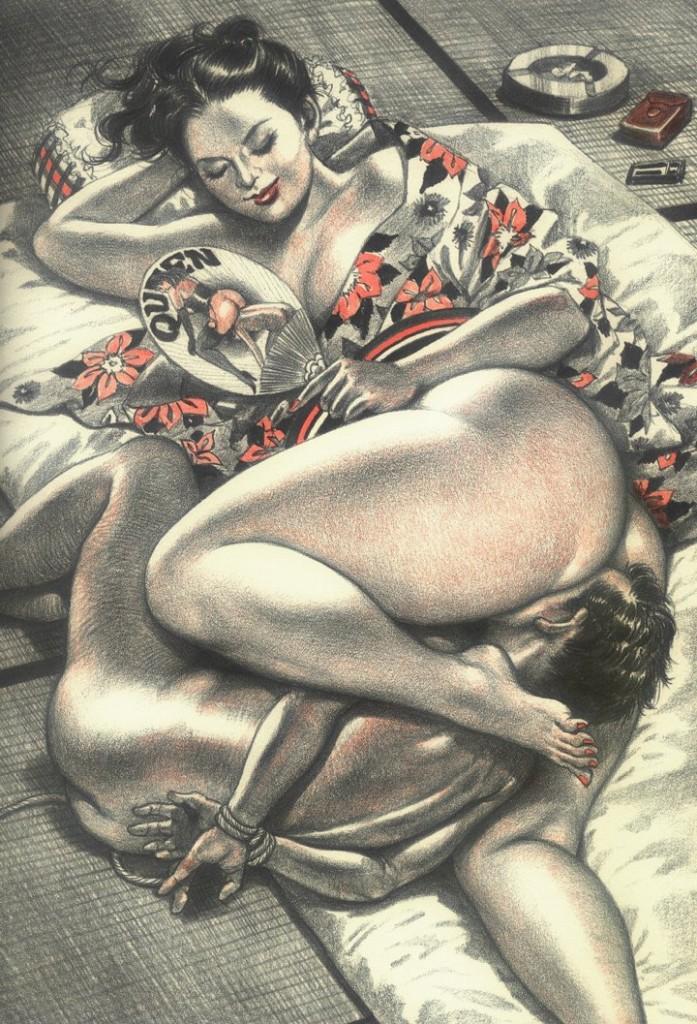 disegno fetish adorazione anale