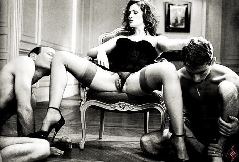 la padrona mistress vuole essere adorata