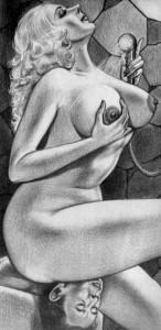 FOTO disegni fetish vignette dal passato