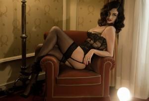 FOTO glamour top mistress