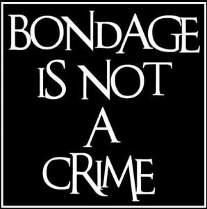 FOTO  il bondage non è un crimine