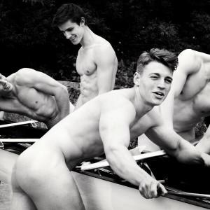 Calendario dei canottieri nudi universitari inglesi foto