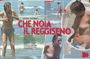 Gianna Nannini al mare in topless e nuda con la sua migliore amica ;-)