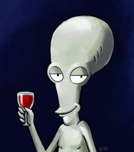 Roger l'alieno di American Dad! I travestimenti di tutte le sigle in gif