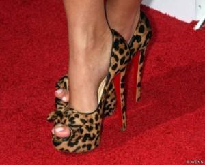 FOTO scarpe da donna leopardate feticcio