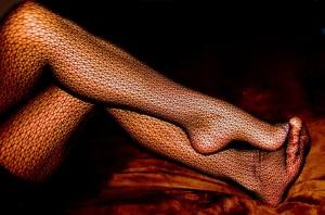 FOTO calze a rete particolari
