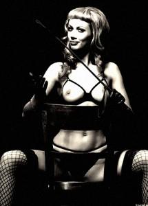 FOTO mistress calze a rete